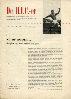 De HVC-er Maart 1958