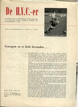 De HVC-er April 1958