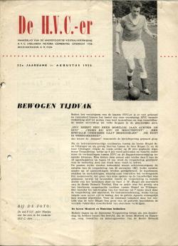 De HVC-er Augustus 1958