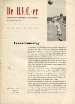 De HVC-er Februari 1960