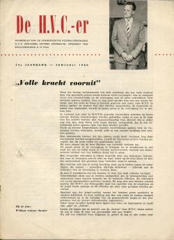 De HVC-er Juni-Juli 1960