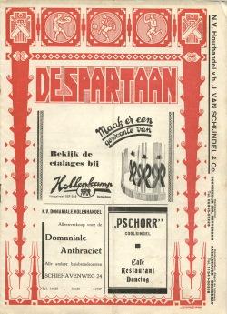 De Spartaan Mei 1937