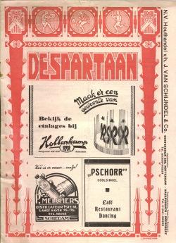 De Spartaan Juli 1937