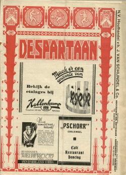 De Spartaan Augustus 1937