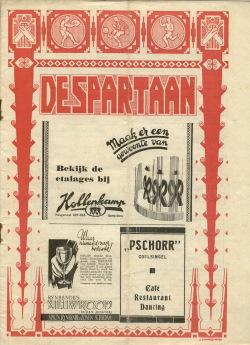 De Spartaan Oktober 1937
