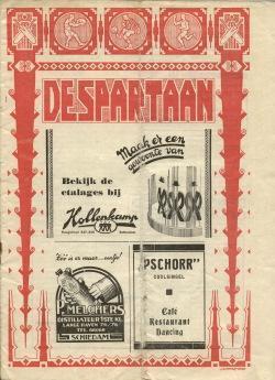 De Spartaan November 1937