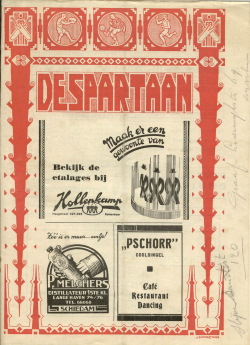 De Spartaan Januari 1938
