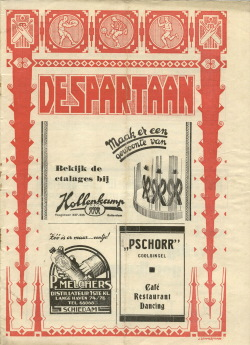 De Spartaan Maart 1938