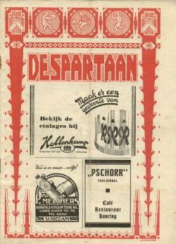 De Spartaan Mei-Juni 1938