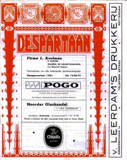 De Spartaan Januari 1971