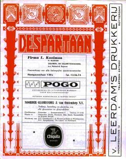 De Spartaan Januari 1972