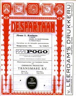 De Spartaan November 1972