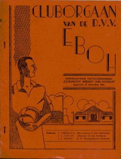 Clubnieuws EBOH Februari 1934
