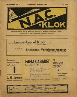 NAC Klok 6 Februari 1947
