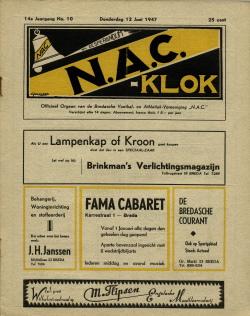 NAC Klok 12 Juni 1947