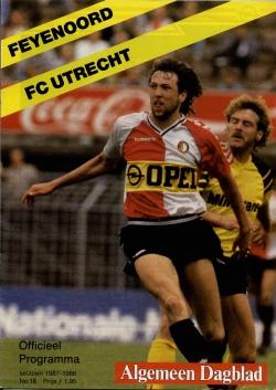 Inter Football Programma - 18 - Feyenoord - FC Utrecht