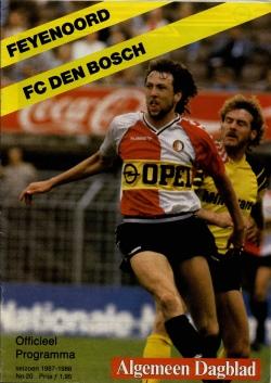 Inter Football Programma - 20 - Feyenoord - FC Den Bosch