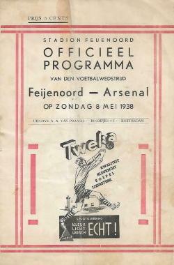 Programma Feyenoord - Arsenal