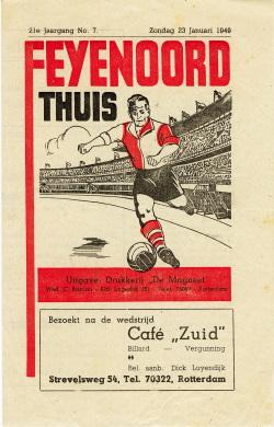 Programma Feyenoord - EDO