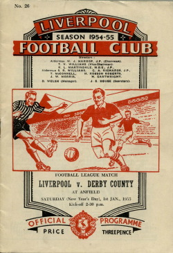 Programma Liverpool - Derby County