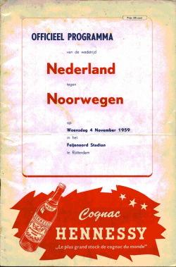 Programma Nederland - Noorwegen