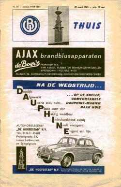 Programma Blauw-Wit - FC Eindhoven