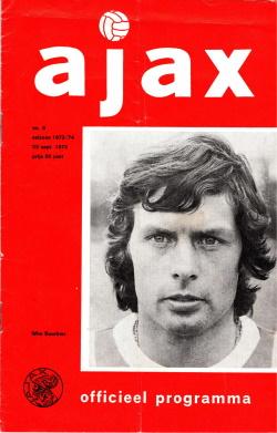 Programma Ajax-Feyenoord Sept 1973