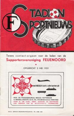 Programma Feyenoord - Ipswich Town