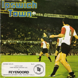 Programma Ipswich Town - Feyenoord