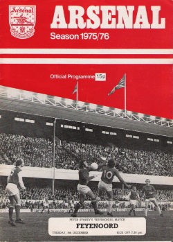 Programma Arsenal - Feyenoord