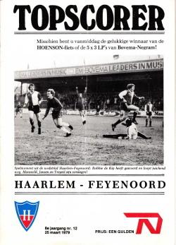 Programma Haarlem - Feyenoord