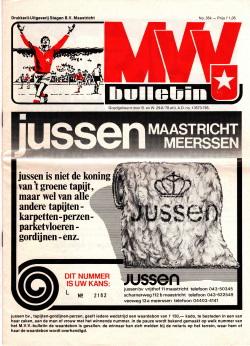 Programma MVV- Feyenoord 1979
