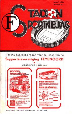 Programma Feyenoord-Ajax 1979