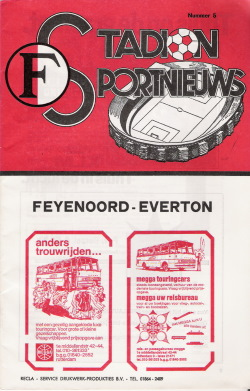Programma Feyenoord - Everton