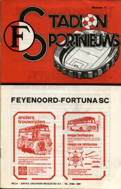 Programma Feyenoord - Fortuna Sittard