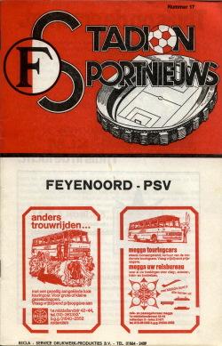 Programma Feyenoord - PSV