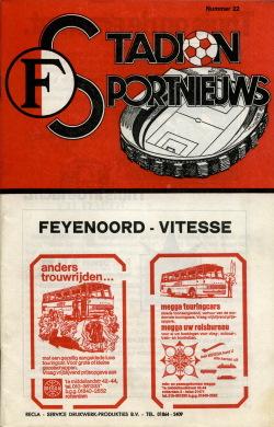 Programma Feyenoord - Vitesse