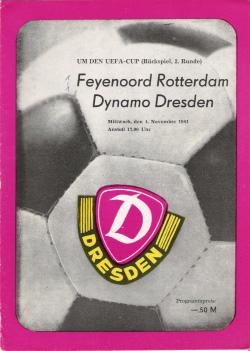 Programma Dynamo Dresden - Feyenoord