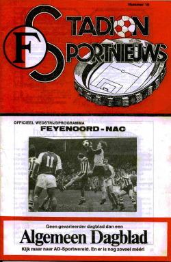 Programma Feyenoord - NAC