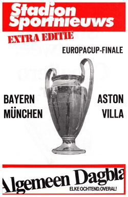 Programma Bayern München - Aston Villa