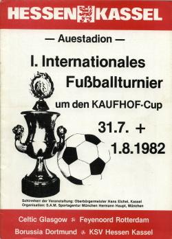 Programma Kaufhof Cup Toernooi