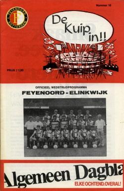 Programma Feyenoord - Elinkwijk