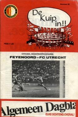Programma Feyenoord - FC Utrecht