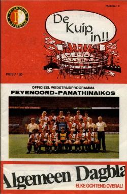 Programma Feyenoord - Panathinaikos