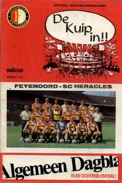 Programma Feyenoord - Heracles