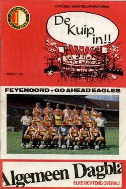 Programma Feyenoord - Go Ahead Eagles