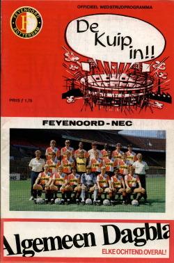 Programma Feyenoord - NEC