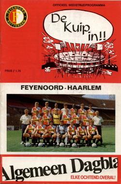 Programma Feyenoord - Haarlem