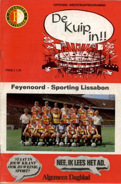 Programma Feyenoord - Sporting Lissabon