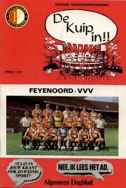 Programma Feyenoord - VVV